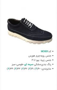 فروش عمده کفش اینترنتی