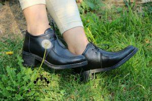 کفش اداری چرم زنانه