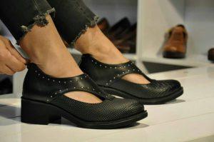 تولیدی عمده کفش چرم زنانه ارزان قیمت درتهران