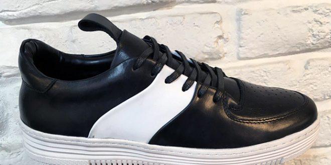 کفش چرم مصنوعی
