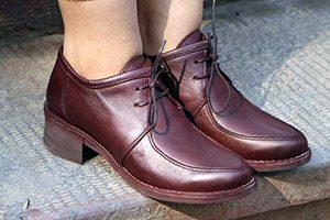 کفش چرم گاوی زنانه