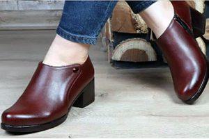 کفش طبی زنانه پاشنه دار