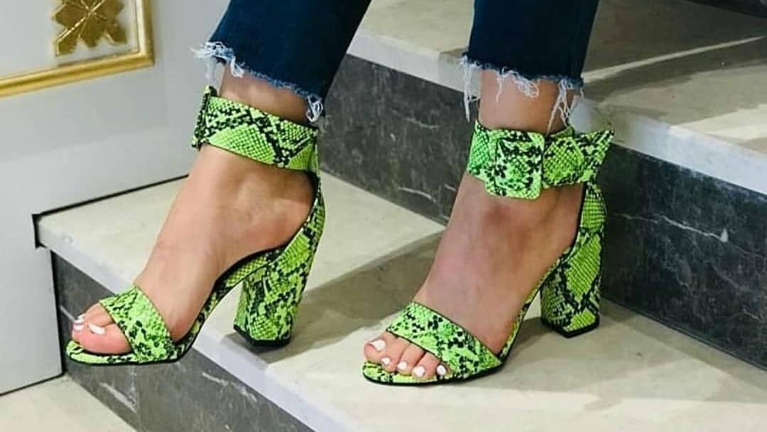 پخش عمده کفش مجلسی زنانه پاشنه بلند