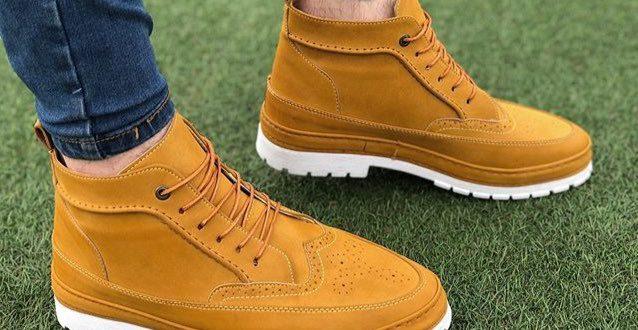 تولیدی کفش نیم بوت مردانه