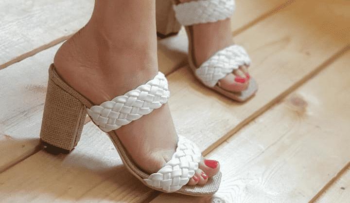 تولیدی کفش پاشنه بلند طرح صندل