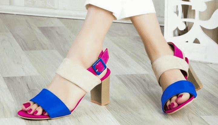 تولیدی کفش پاشنه بلند تابستانی