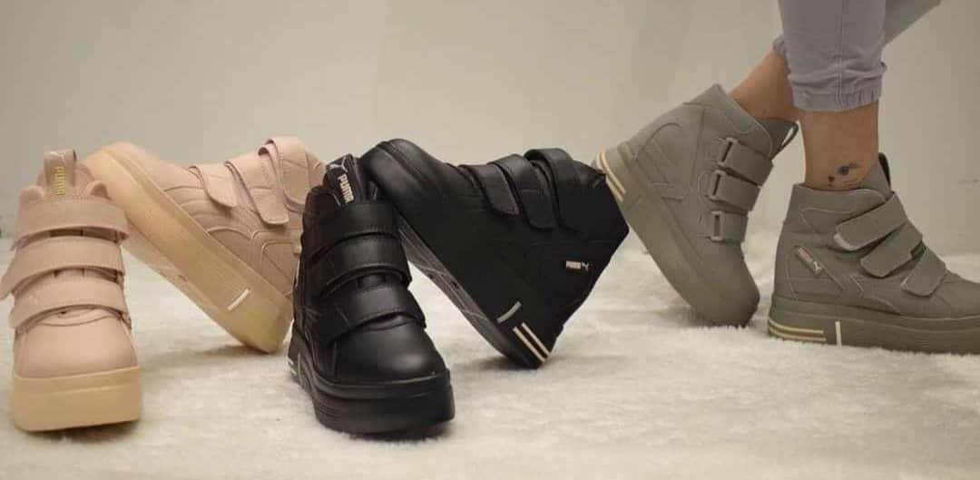 فروش عمده کفش پاشنه مخفی دخترانه