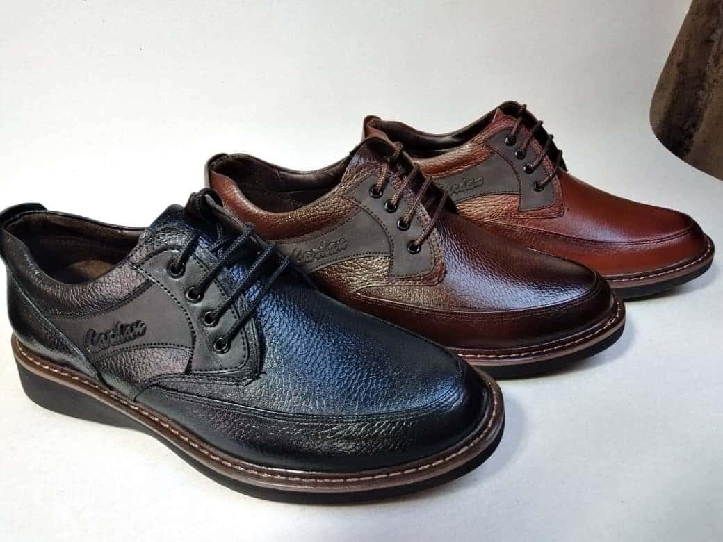 بهترین کفش چرم مردانه ایرانی