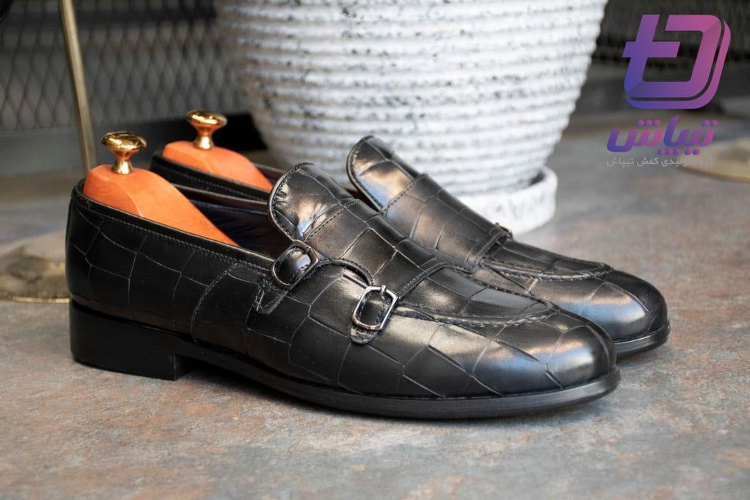 عمده فروشی کفش مردانه ورنی مجلسی با تضمین کیفیت