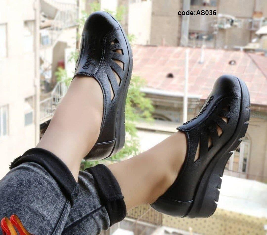 کفش طبی زنانه سایز بزرگ