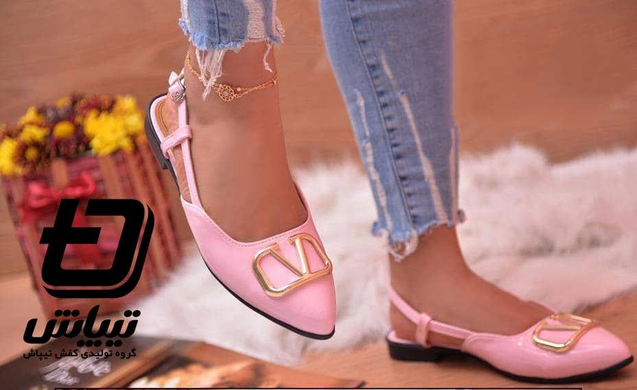 خرید اینترنتی کفش از تولیدی زنانه تابستانه