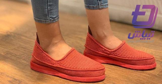 تولیدی انواع کفش گیوه رنگی