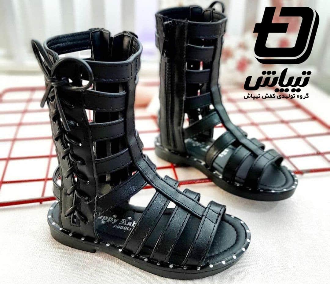 فروش عمده کفش بچه گانه راحتی و ساق بلند تهران