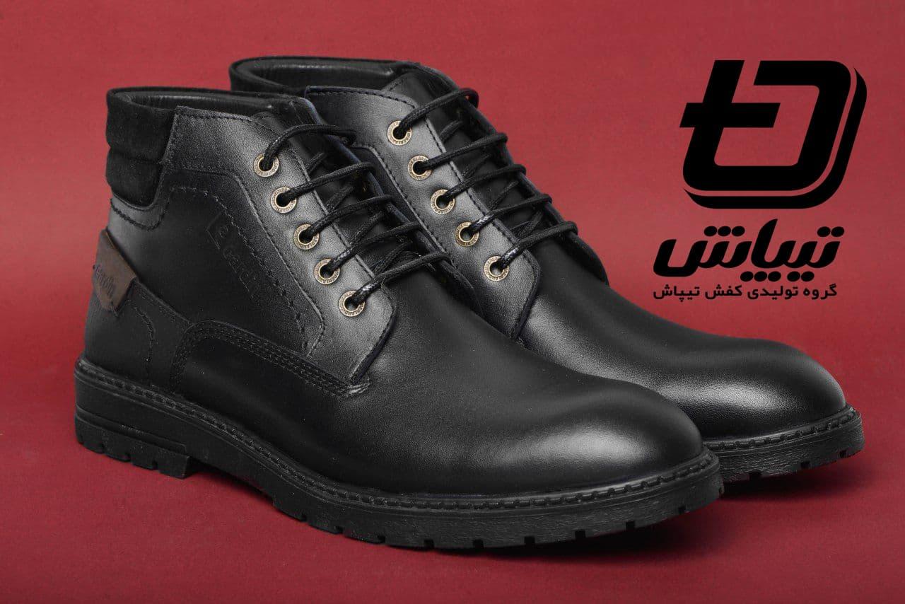 تولیدی کفش مردانه تهران بوت پاییزی سایز بزرگ